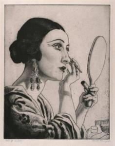 Make-up-Grabado 1925